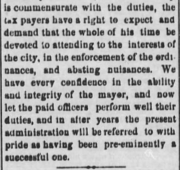 "Kristin Holt | ""Nineteenth Century Problems"". The Black Hills Daily Times of Deadwood, South Dakota, May 22, 1884. Part 5."