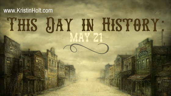 Kristin Holt | This Day in History: May 21