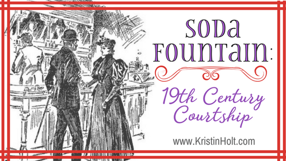Soda Fountain: 19th Century Courtships