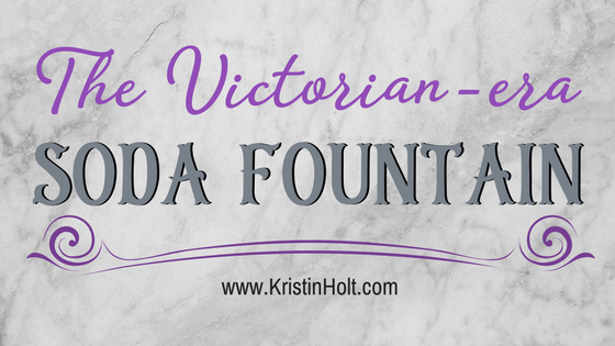 The Victorian-era Soda Fountain