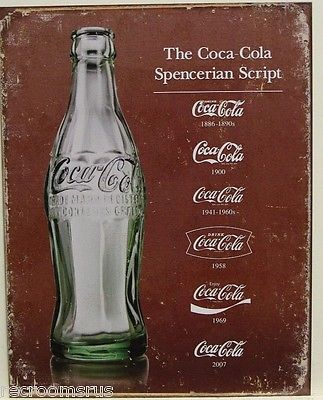 Kristin Holt | New Coca-Cola: Branded, Bottled, Corked, and only 5¢! Coca-Cola Logo in Spencerian Script. Image: Clickpick.