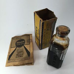 Kristin Holt | The Victorian Root Beer War. Photograph of Hires Root Beer Extract, corked, 3 oz. bottle. 1929 Vintage. Photo courtesy of sales page of ebay.