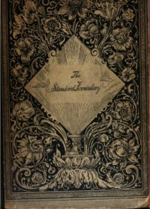 Kristin Holt | The Victorian Root Beer War. Cover Image of The Standard Formulary: A Collection of nearly Five Thousand Formulas, 1900.