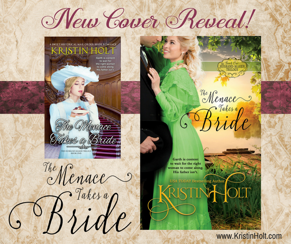 New Cover Reveal: THE MENACE TAKES A BRIDE by Kristin Holt.