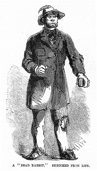 Kristin Holt | BOOK REVIEW: With You Always by Jody Hedlund. Image: Dead Rabbit gang member holding a brickbat as a weapon in July 1857. Image: Wikipedia, Public Domain.