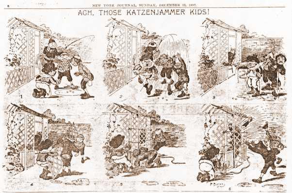 Kristin Holt   Victorian America's Harvest Celebrations. A Katzenjammer Kids comic published in the New York Journal, Sunday, December 17, 1897.