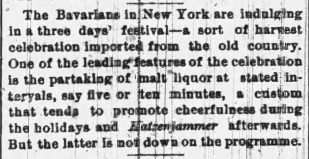 Kristin Holt   Victorian America's Harvest Celebrations. From Buffalo Morning Express, Buffalo, New York, on September 3, 1874.