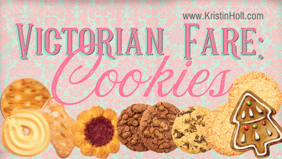 """Kristin Holt - """"Victorian Fare: Cookies"""" by USA Today Bestselling Author Kristin Holt."""