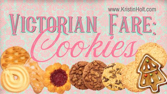 Victorian Fare: Cookies