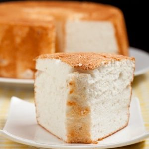 Kristin Holt | photograph of angel food cake (from pinterest). Related to Victorian Baking: Angel's Food Cake.