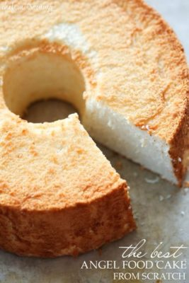 Photograph: The Best Angel Food Cake (from Pinterest). Related to Victorian Baking: Angel's Food Cake.