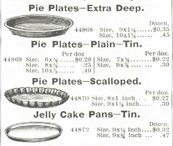 Extra Deep Pie Plates Tin Pie Plates and Jelly Cake Pans (tin). Jelly Cake Pans are an item least-similar to todayu0027s offerings and this illustration from ...  sc 1 st  Kristin Holt & Victorian Cake: Tins Pans Moulds | Kristin Holt