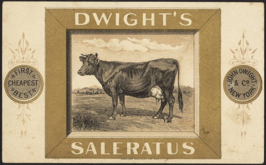 Kristin Holt   Pearl Ash, Potash, and the Ashery. Image: Side 1 of Dwight's Saleratus. Image: Digital Commonwealth, Massachusetts Collections. No copyright.