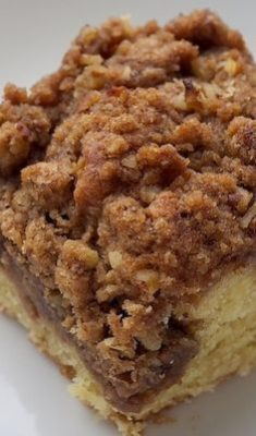 Kristin Holt | Vintage Coffee Cake. Image: Cream Cheese Coffee Cake, courtesy of Pinterest.