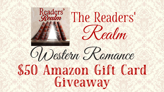 Western Romance $50 Amazon Gift Card Giveaway: April 4-16, 2018