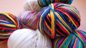 "Kristin Holt | What is a Calico Ball? Photograph of ""Calico Yarn."" Image source: Freepik.com, used with paid subscription."