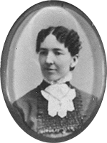 Kristin Holt | Female Dentists (1889): Man Haters Without Maternal Instincts. Vintage photo of Jennie Kollock Hilton, first woman graduate of University of Michigan's Dental Program (1881).