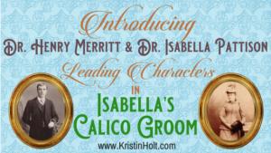 Kristin Holt | Introducing Dr. Henry Merritt and Dr. Isabella Pattison