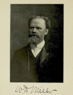 Kristin Holt | Victorian Mouths ~ Worms or Germs? Photograph of Willoughby Dayton Miller, coutesy of Wikipedia.