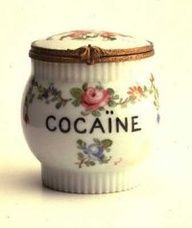 Kristin Holt | Cocaine in Victorian Dentistry. Photograph of decorative cocaine canister, circa 1880.