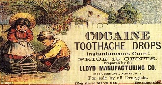 "Kristin Holt | Cocaine in Victorian Dentistry. Ad for Cocaine Tooth Drops: Instantaneous Cure! ""For sale by all Druggists."" (Registered March 1885)"