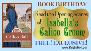 Kristin Holt | BOOK BIRTHDAY: Read the Opening Scenes of Isabella's Calico Groom, FREE! EXCLUSIVE! Related to Victorian Professional Women do not have the brain power to succeed.