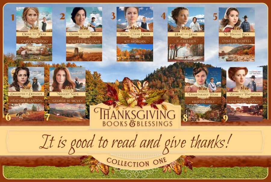Thanksgiving Books & Blessings Collection One Series Page on Amazon