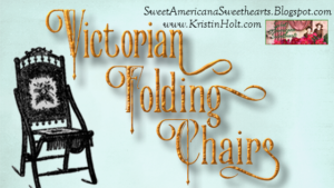 Kristin Holt | Victorian Folding Chairs