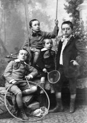 Kristin Holt | Meet the Cast: Unmistakably Yours. Victorian cabinet card used to visualize the characters: Murphy Boys.