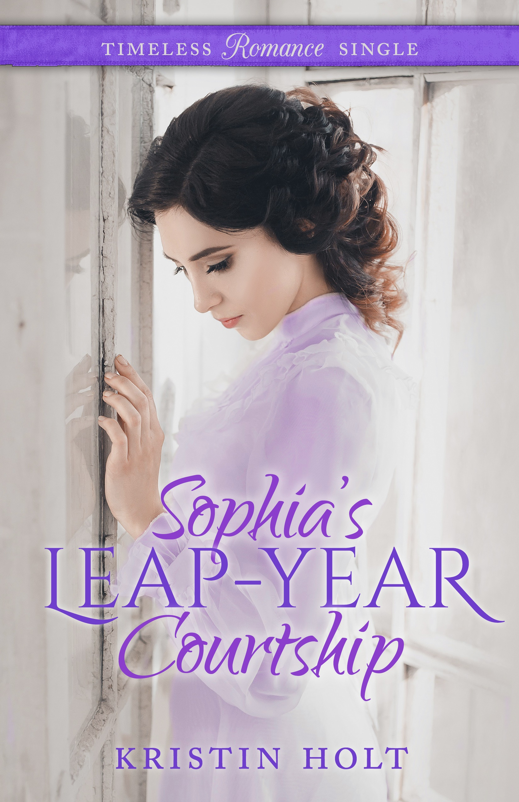 Kristin Holt | Image: eBook cover: Sophia's Leap-Year Courtship by USA Today Bestselling Author Kristin Holt