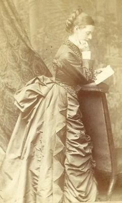 "Kristin Holt | Meet the Cast: Unmistakably Yours. Victorian Cabinet Card photo used as inspiration for Mrs. Zlyphia ""Zee"" Speare Hudson."