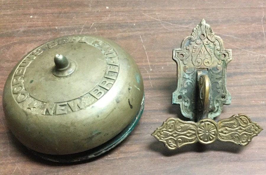 Kristin Holt | Photograph of 19th Century Turnkey Doorbell, for sale on ebay