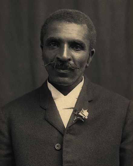 Kristin Holt | Peanut Butter in Victorian America. Photograph of George Washington Carver. Canadian phramacist Marcellus gilmore Edson was granted a US Patent for peanut butter manufacturing 12 years before George Washington Carver began his famous work. (Source: reddit)