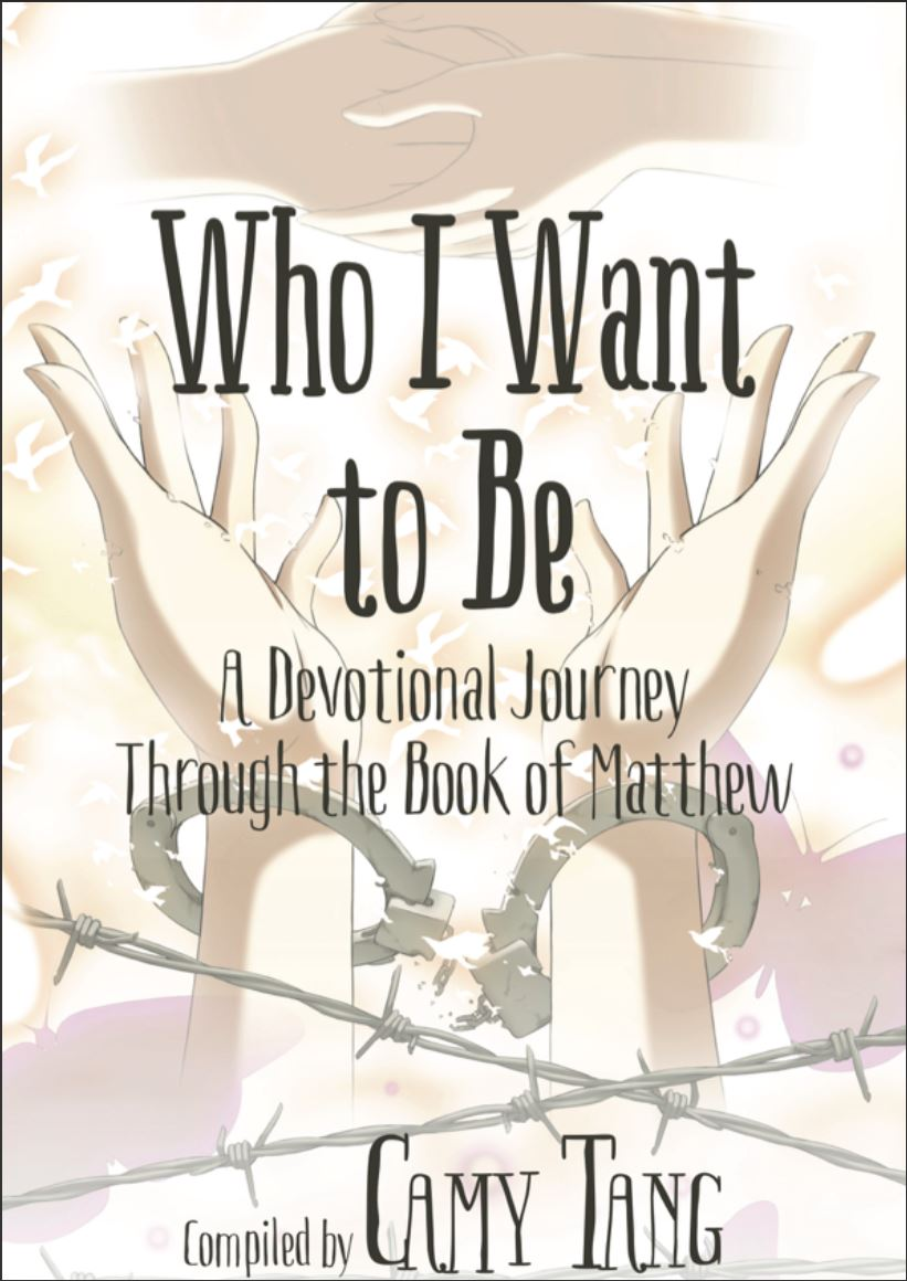 Kristin Holt | Image: book cover: Who I Want to Be~ A Deovtional Journey Through the Book of Matthew