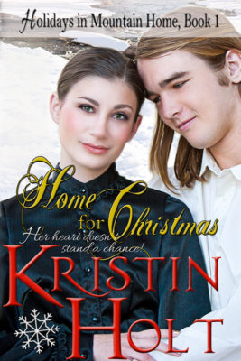 Former Cover Art Image: Home for Christmas by USA Today Bestselling Author Kristin Holt