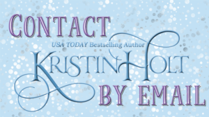 Kristin Holt | Link to: Contact Author Kristin Holt by email