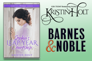 Kristin Holt | Review on Barnes and Noble: Sophia's Leap-Year Courtship