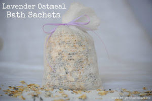 Related to Oatmeal in the Victorian Toilette: Lavender Oatmeal Sachets by Happy Homemaker Me