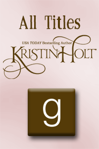 Goodreads: All Titles by USA Today Bestselling Author Kristin Holt.