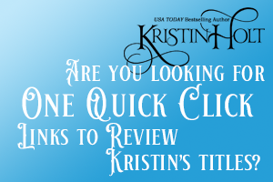 Kristin Holt | Are You Looking for Kristin's One Quick Click Links?