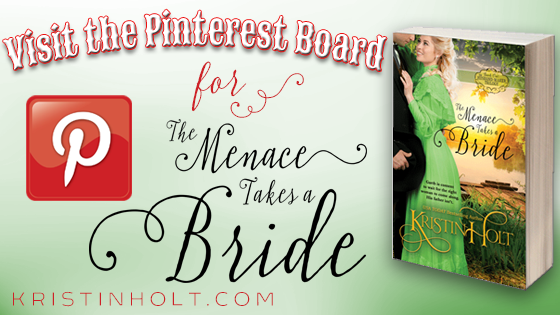 Visit the Pinteret Board for The Menace Takes a Bride