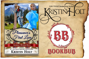 Kristin Holt | Review on BookBub : Pleasance's First Love