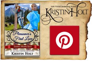 Pinterest Board for Pleasance's First Love by Author Kristin Holt