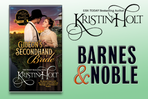 Kristin Holt | Review on Barnes & Noble : Gideon's Secondhand Bride