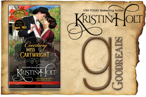 Kristin Holt | Review on Goodreads: Courting Miss Cartwright