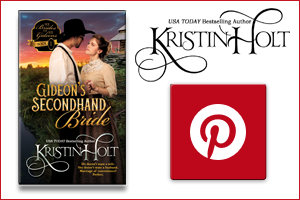 Kristin Holt | Pinterest Board for Gideon's Secondhand Bride