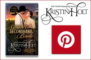 Kristin Holt   Pinterest Board for Gideon's Secondhand Bride