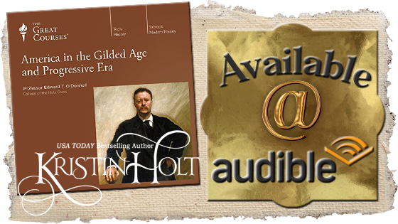 Kristin Holt | Review of AudioBook: America In The Gilded AGe and Progressive Era. This audiobook is available on Audible.
