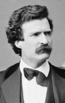 Kristin Holt | An 1871 photograph of Mark Twain, Public Domain, courtesy of Wikipedia.