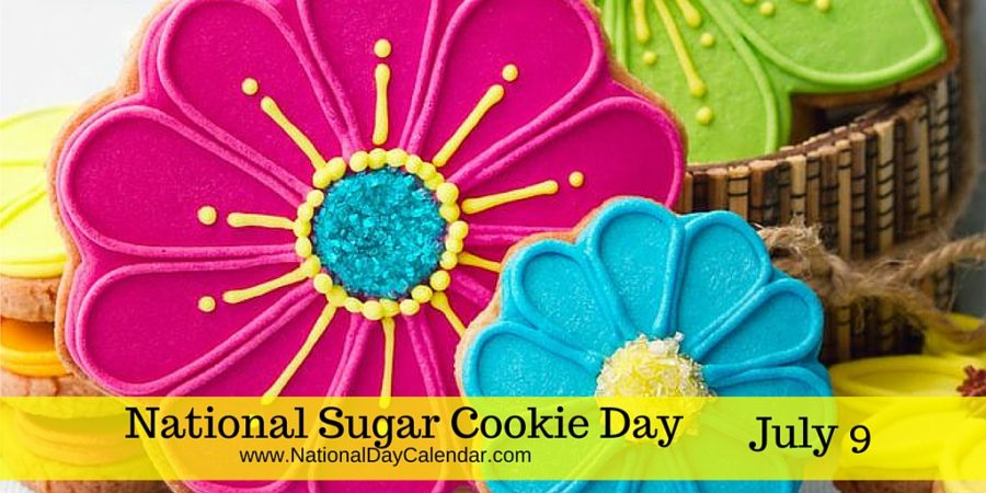 National Sugar Cookie Day, July 9th